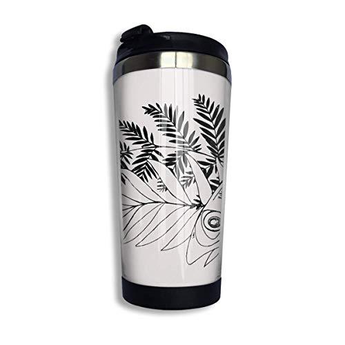 vfrtg Taza de viaje de vaso de acero inoxidable The Last of Us Part 2 - Ellie Tattoo Insulated Vacuum Stainless Steel Tumbler Cup 13.5oz Coffee Travel Mug