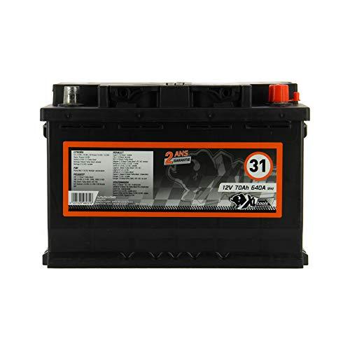 XLPT Batterie Auto 640A 70Ah