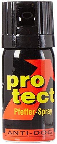BlackDefender 3 Stück Pfefferspray Protect (40ml) extra stark -Breitstrahl