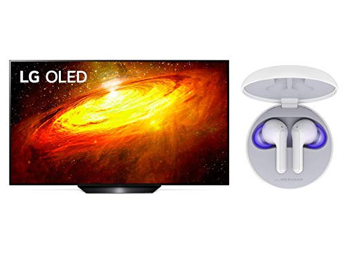 LG OLED TV AI ThinQ OLED55BX6LB, Smart TV 55'', Processore α7 Gen3 con Dolby Vision IQ/Dolby Atmos + LG Cuffie Bluetooth Wireless In Ear TONE Free FN6 Bianche