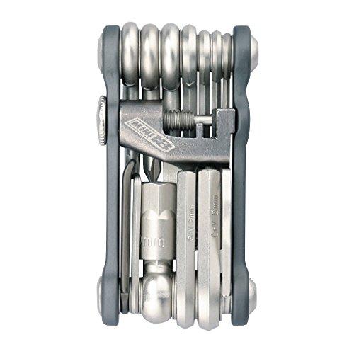 TOPEAK Mini 18+ Miniwerkzeug 18 Funktionen Faltbar Mini-Tool Fahrrad Innensechskant Reifenheber, 15400065