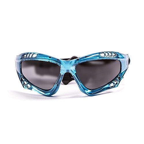 Ocean Sunglasses Australia - Gafas de Sol polarizadas - Montura : Azul Transparente - Lentes : Ahumadas (11700.6)
