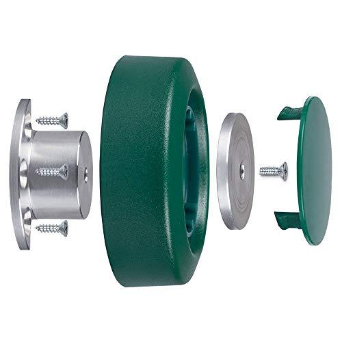 Premium Reparatur-Set Rad Alu passend für Vorwerk Elektrobürste EB 350 351 351 F - Bestleistung beim Saugen - Hochwertige Qualität