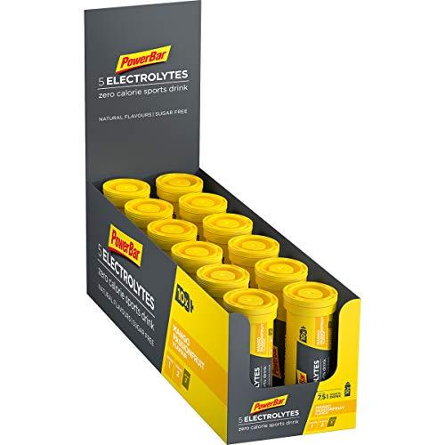 PowerBar 5 Electrolytes Mango-Passionfruit 12x10Tabs - Brausetabletten mit 5 Elektrolyten