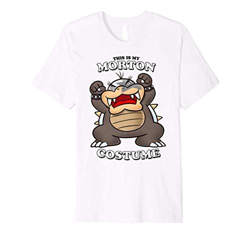Super Mario This Is My Morton Costume Premium T-Shirt