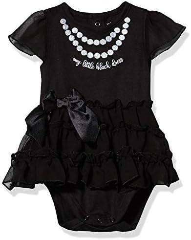 GERBER Baby Girls Bodysuit with Tutu Skirt Black Dress 3 6 Month product image