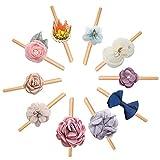 cherrboll Mädchen-Haarbänder, für Babys, Schleife, weich, Blume, Kleinkind, mit Neugeborenen Gr. Einheitsgröße, Style-3