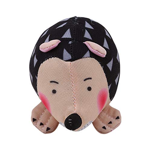 Aiasiry Cute Hedgehog Shape Pin Cushion Fabric Pin Holder for Sewing