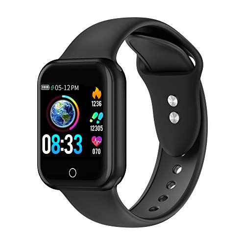 Vicsainteck Smartwatch, 1.4 'Grande Fitness Tracker Orologio Intelligente Pressione Sanguigna Cardiofrequenzimetro Touch Impermeabile IP68 Pedometro Calorie Cronometro Display Sportivo Braccialetto