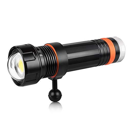 JSX 10500 Lumen-Videoleuchte, COB Wasserdichten CREE LED Tauchen Taschenlampe Unterwasserfotografie Licht Tauchens-Taschenlampe Wasserdicht Bis 150 Meter