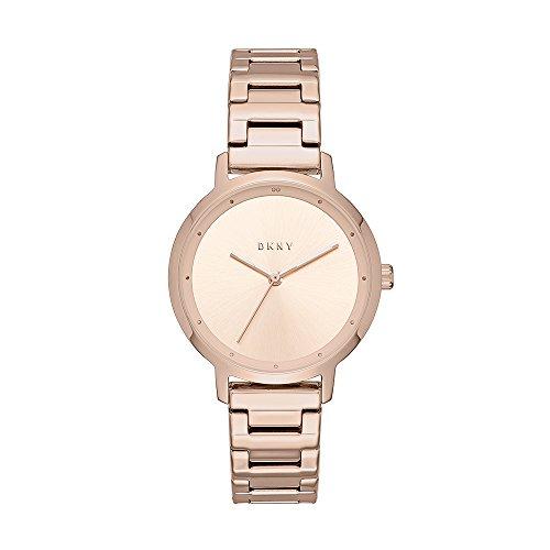 DKNY Reloj Analogico para Mujer de Cuarzo con Correa en Acero Inoxidable NY2637