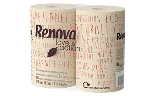 Renova Papel Higiénico Eco Love & Action XXL - 4 Rollos