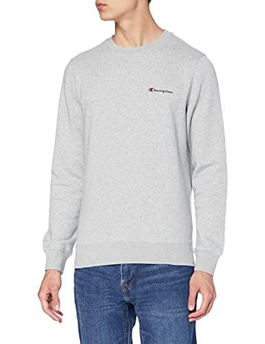 Champion Herren - Classic Small Logo Sweatshirt - Grau, L