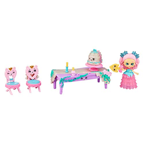 Shopkins Happy Places Royal Wedding Scene Pack with Lil' Princess or Groom and Petkins Inside - Styles May Vary