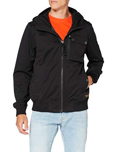 G-STAR RAW Mens Utility HDD Softshell JKT Jacket, dk Black C082-6484, Large
