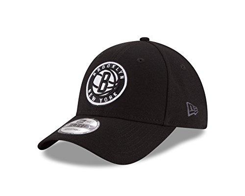 New Era Herren 9Forty Brooklyn Nets Kappe, Schwarz, OSFA