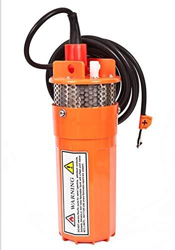 Filtro Profesional Acuario Bomba de Agua DC24V 12V 360LPH 70M pequeño Ascensor Sumergible energía Solar for jardín al Aire Libre for pozos Profundos (Voltage : 24V)