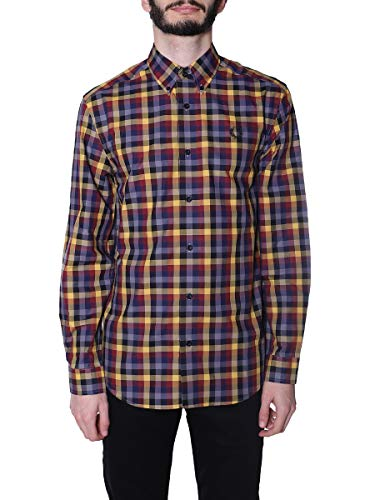 Fred Perry Camcia Uomo Gold S
