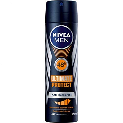 Nivea Men Ultimate Protect Deo-Spray, Anti-Transpirant-Schutz, 6er Pack (6 x 150 ml)
