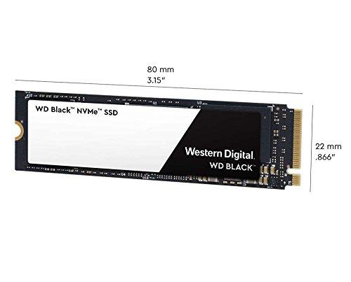 WD Black 500GB High-Performance NVMe PCIe Internal SSD - M.2 2280, 8 Gb/s - WDS500G2X0C