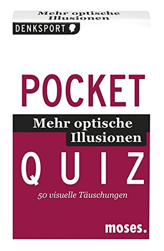 Optische Illusionen 02. Pocket Quiz: 50 visuelle Täuschungen (Pocket Quiz / Ab 12 Jahre /Erwachsene)