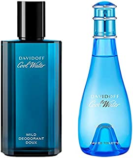Set of Davidoff Cool Water Man & Woman