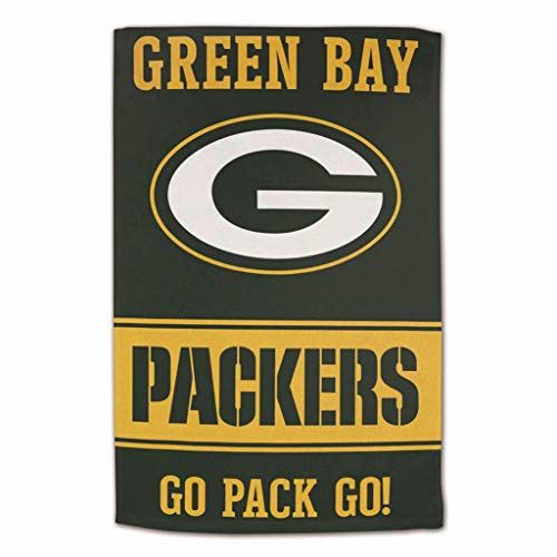 Master Industries Green Bay Packers Sublimated Cotton Towel - 16' x 25'