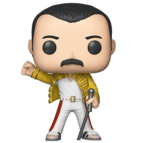 QUEEN クイーン (結成50周年) - POP! ROCKS : Freddie Mercury(Wembley 1986) / フィギュア・人形 【公式/オフィシャル】