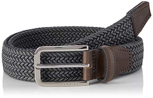 BOSS Herren Clorio_sz30 Gürtel, Grau (Dark Grey 21), 95 675 Herstellergr e EU
