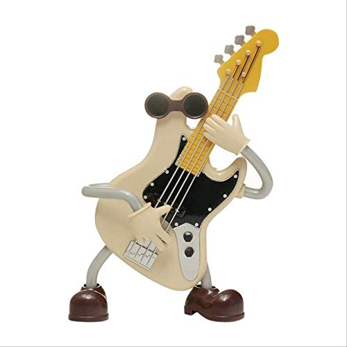 yishouhengcheng Music Box Acoustic Guitar Music Box Plastic Children Gift Music Box Home Decoration Miniature Crafts Best Creative Gift for Kids and Friends