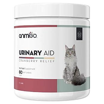 Pour prendre soin de la santé urinaire de votre chat, essayez notre complément alimentaire Animigo d'aide urinaire Chez Animigo, nous avons à cœur d'aider vos animaux de compagnie, quels que soient leurs problèmes Garantissez à votre compagnon à patt...
