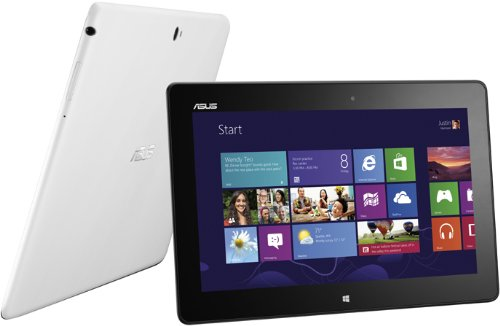 Asus VivoTab ME400C 25,7 cm (10,1 Zoll) Tablet-PC (Intel Atom Z2760, 1,6GHz, 2GB RAM, 64GB HDD, PowerVR SGX545, Win 8) weiß