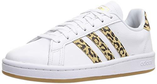 adidas Grand Court, Zapatillas de Tenis Mujer, FTWBLA/FTWBLA/Carton, 42 EU