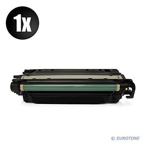 IntelliTone kompatibler Cartridge für Color Laserjet CP-4025 CP-4520 CP-4525 Patronen ersetzen HP 648A Schwarze CE260A Patronen Original EUROTONE (ISO-Norm 19798)
