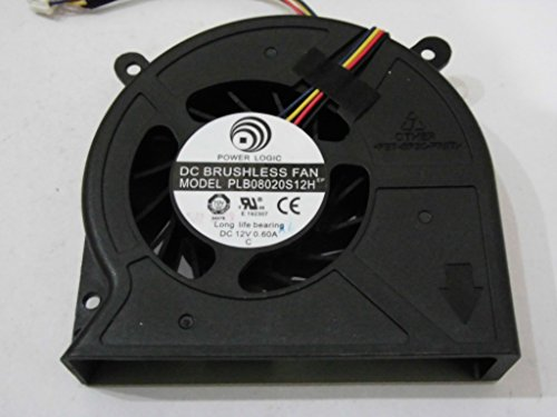 Power Logic PLB08020S12H 12V 0.6A 4Wire All in one Computer Fan