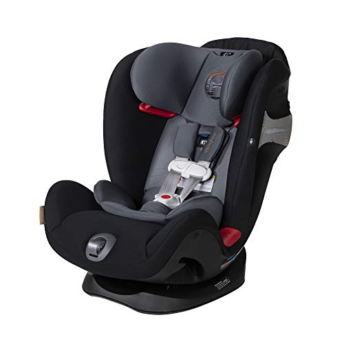 CYBEX Eternis S All-in-One Convertible Car Seat-Pepper Black