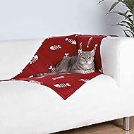 Trixie Beany Fleece Blanket, 100 70 cm, Bordeaux