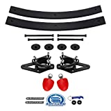 Supreme Suspensions - High Strength Steel Lift Kit for Nissan Frontier/Xterra and Suzuki Equator 2WD 4WD 3' Front Lift Strut Spacers + 2' Rear Add-A-Leaf Helper Springs + UCA Bump Stops
