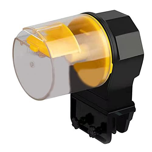 LOVIVER Alimentador automático del Tanque de Peces - Dispensador de Alimentos con Temporizador automático para acuarios para Vacaciones