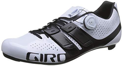 Giro Factress Techlace Womens Road Cycling Shoe − 40  White/Black (2019)