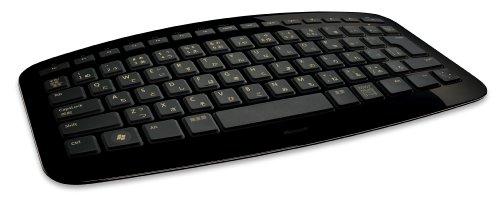 マイクロソフト キーボード Arc Keyboard ブラック J5D-00020。