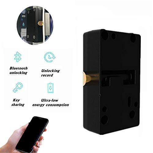 Gabinete inteligente Bluetooth cerradura del cajón no tripulado de contenedores de bloqueo Sin llave mecánica con el manual del Inglés