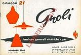 Forniture generali elettriche, gas. Catalogo 21.
