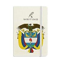 コロンビア国家エンブレムの国 ノートブッククラシックジャーナル日記A 5を書く