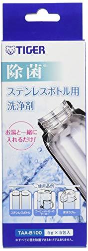 Tiger Corporation (Tiger) wit 5 g × 5 capsules van roestvrije fles wasmiddel TAA-B100-Z