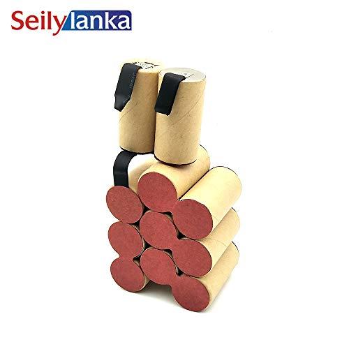 Seilylanka 3000mAh für Kresse 13,2 V Ni MH Akku CD ASX 132 ASX132 zur Selbstinstallation Batterie Werkzeugakkus