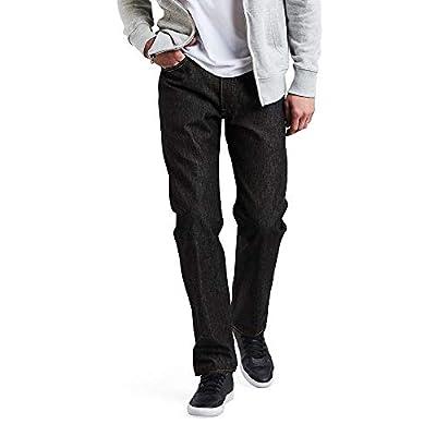 Levi's Men's 501 Original Fit Jeans, Black - STF, 34W x 29L