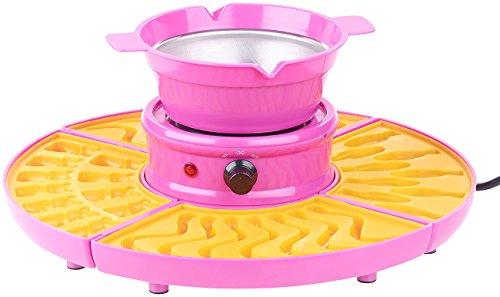 Rosenstein & Söhne Gummibärchenmaschine: Gummibärchen-Maschine und Schokokonfekt-Maker mit Gussformen-Set, 25 W (Gummibärenmaschine)