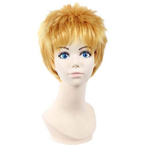 etruke court attaque sur Titan Reiner Naruto Cosplay Perruques cheveux