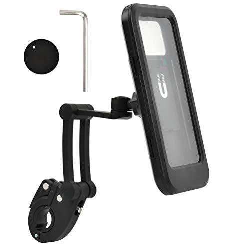 """""""N/A"""" Soporte para teléfono móvil Bicicleta Soporte Funda para teléfono móvil Impermeable Anti-vibración 360 ° rotación Motocicleta Soporte para teléfono móvil Bicicleta Bolsa Impermeable para teléfo"""